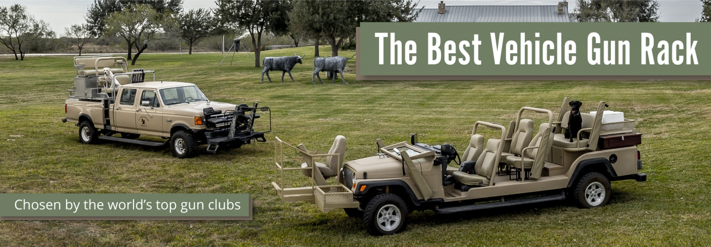 Scabbard: The Best Vehicle Gun Rack, chosen by the world's top gun clubs