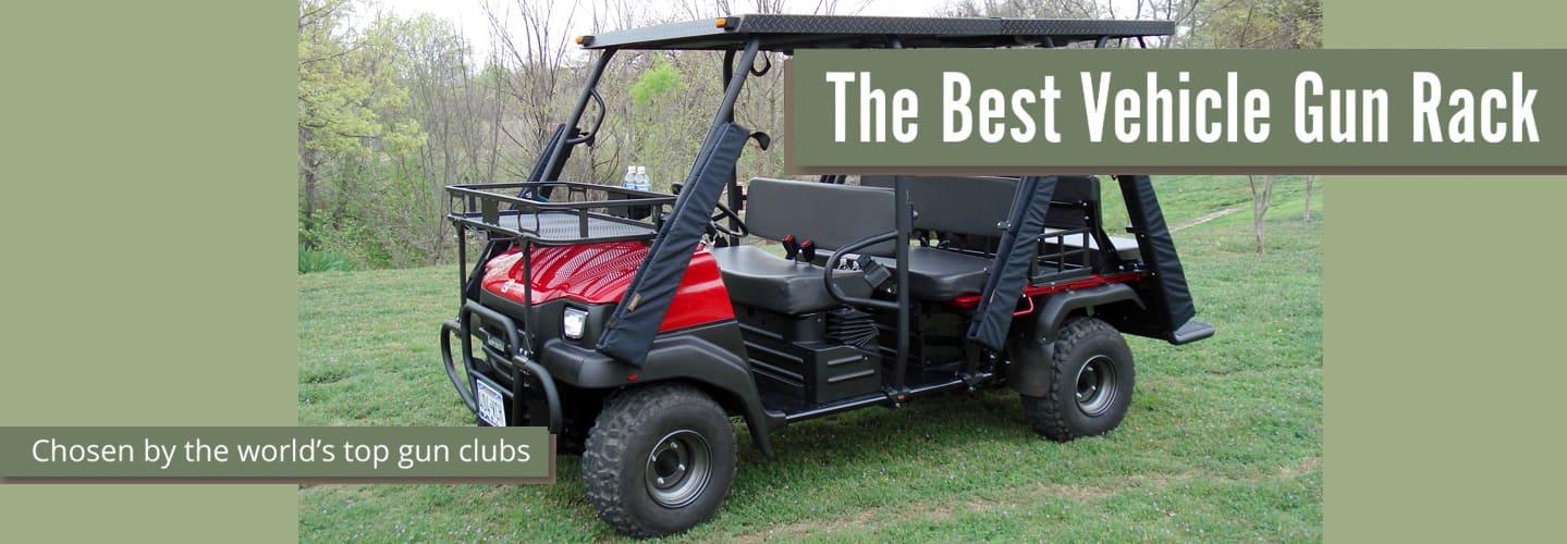 Scabbard: The Best Vehicle Gun Rack, chosen by the world's top gun clubs